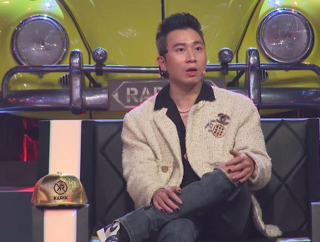 Karik khoe bộ móng ba màu trên Rap Việt, có lẽ nào đang ngầm phát cẩu lương cho fan? - Ảnh 1.