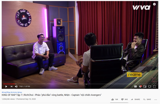 Hồ Hoài Anh muốn RichChoi thay đổi cách rap để mở rộng đối tượng khán giả, nhưng netizen lại nghĩ khác - Ảnh 1.