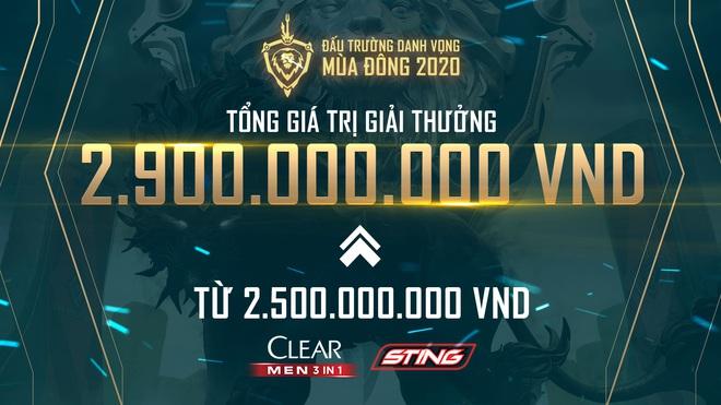 Đấu Trường Danh Vọng chứng là giải đấu giàu có số 1 làng game, đang yên đang lành tăng tiền thưởng lên 2,9 tỷ đồng - Ảnh 1.