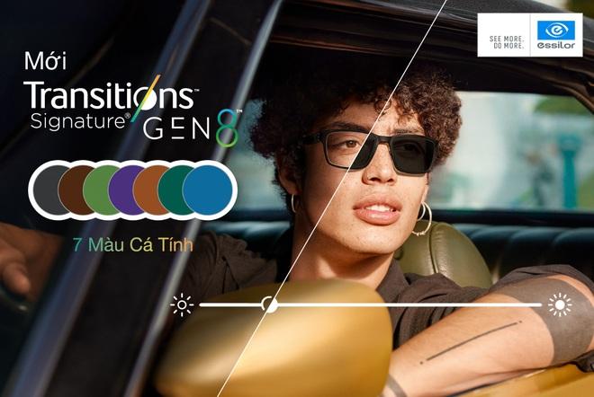 Kính đổi màu Transitions® Signature® Gen 8™ thế hệ mới của Essilor - Phong cách thời thượng - Ảnh 4.