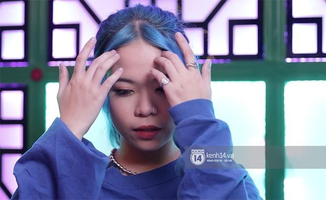 Tlinh khoe visual mới trong vòng thi tiếp theo của Rap Việt: Tóc xanh da trắng cực đáng yêu! - Ảnh 3.
