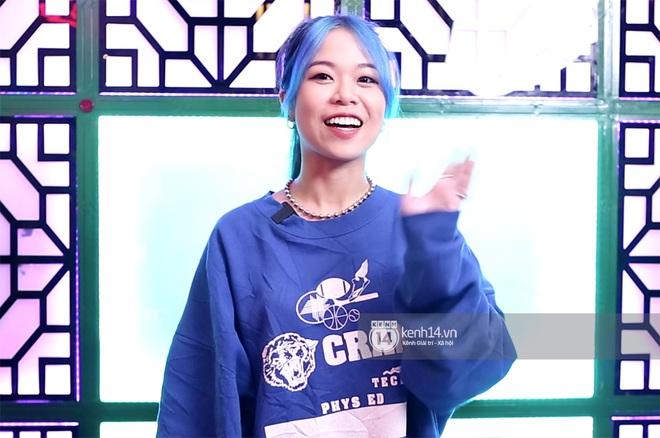 Tlinh khoe visual mới trong vòng thi tiếp theo của Rap Việt: Tóc xanh da trắng cực đáng yêu! - Ảnh 4.