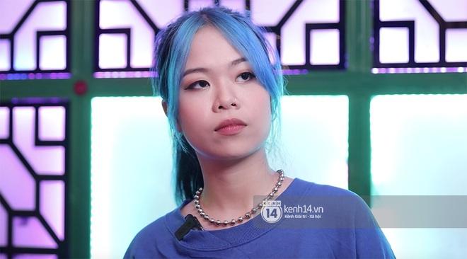 Tlinh khoe visual mới trong vòng thi tiếp theo của Rap Việt: Tóc xanh da trắng cực đáng yêu! - Ảnh 2.