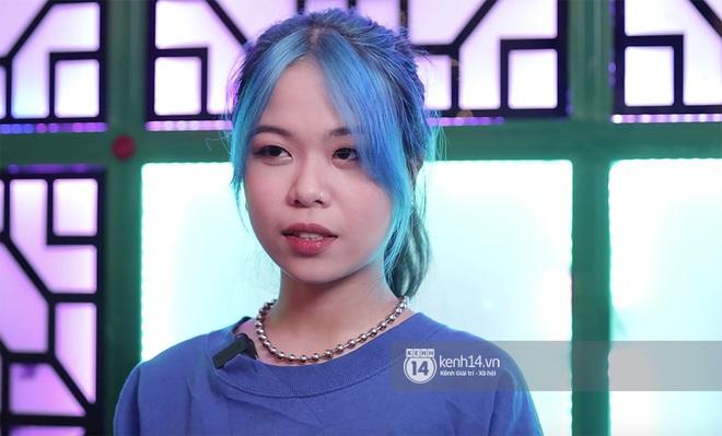 Tlinh khoe visual mới trong vòng thi tiếp theo của Rap Việt: Tóc xanh da trắng cực đáng yêu! - Ảnh 1.