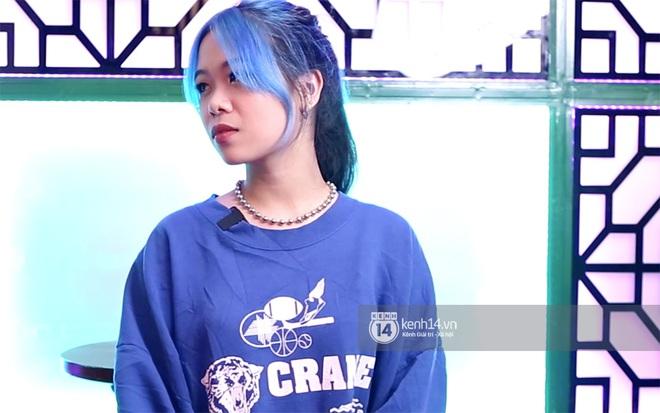 Tlinh khoe visual mới trong vòng thi tiếp theo của Rap Việt: Tóc xanh da trắng cực đáng yêu! - Ảnh 5.