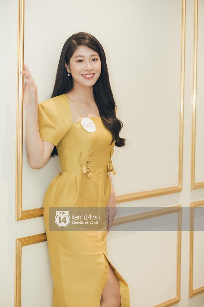 Dàn thí sinh đổ bộ sơ khảo miền Bắc Hoa hậu Việt Nam 2020: Bản sao Châu Bùi nổi bần bật, thí sinh diện váy bánh bèo gây chú ý - Ảnh 16.