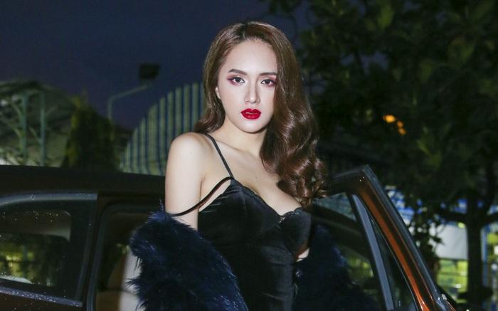 """Hương Giang khéo khoe vòng 1 sexy khi tuyên chiến tại """"The Remix"""""""