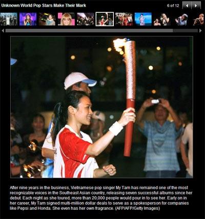 Những sao Việt được truyền thông nước ngoài chú ý 1