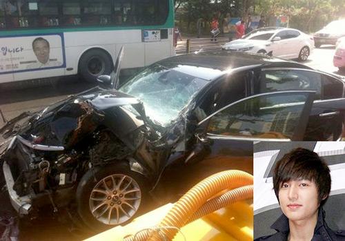 Những tai nạn giao thông kinh hoàng của sao Hàn 9