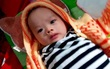 Hà Tĩnh: Bé trai 3 tháng tuổi kháu khỉnh bị bỏ rơi trước cổng nhà