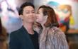 Jun Vũ và Đình Hiếu tình tứ tại họp báo ra mắt phim ở Hà Nội