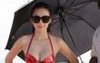 Angela Phương Trinh diện bikini, khoe dáng gợi cảm trên đảo