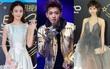 """Triệu Lệ Dĩnh """"gầy đét"""", Hoàng Tử Thao khoe """"tha thu"""" ở mắt tại thảm đỏ Star Awards"""