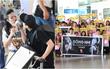 Trở về sau EMA 2016, Đông Nhi - Ông Cao Thắng tình tứ xuất hiện ở sân bay Tân Sơn Nhất