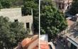 Người chồng nghi ngáo đá sát hại vợ rồi cố thủ trên nóc nhà