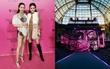 Lê Hà, Ngọc Duyên lộ diện sang chảnh trong hậu trường Victoria's Secret trước giờ G
