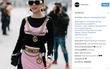 Vừa lên Vogue, Tóc Tiên đã tiếp tục chễm chệ trên Instagram của Moschino
