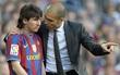 """""""Messi gọi điện thuyết phục Pep Guardiola trở lại Barca"""""""