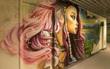 Các họa sĩ graffiti biến ký túc xá bỏ hoang thành triển lãm tranh nghệ thuật