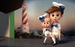 """""""The Boss Baby"""" tung trailer mới bá đạo gửi lời thách thức đến Disney"""