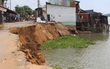 Sau An Giang, Đồng Tháp ban bố khẩn cấp sạt lở đất bờ sông Tiền