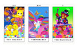Chọn 1 trong 4 lá bài Tarot cute để khám phá bản chất khi yêu của bạn