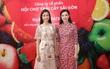 Hoa hậu Đỗ Mỹ Linh trải nghiệm trái cây tươi ngon tại Hội chợ trái cây Sài Gòn