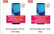 Smartphone Samsung giảm giá mạnh, từ siêu phẩm cao cấp đến điện thoại bình dân
