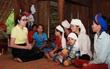 Công ty bảo vệ Long Hoàng cùng Hoa hậu Bùi Thị Hà cứu trợ đồng bào tại Thanh Hóa