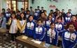 Sổ tay kĩ năng chống nạn buôn người của nữ sinh lớp 11vào chung kết cuộc thi Tri Thức Trẻ Vì Giáo Dục 2017