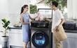 Không còn phải mất hàng tiếng đồng hồ đợi máy giặt xử lý xong đống quần áo bẩn rồi!
