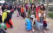 Chuyến xe miễn phí đưa gần 1.500 sinh viên Hà Nội về quê ăn Tết
