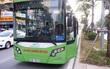 Buýt nhanh BRT lỗi kỹ thuật nằm giữa làn ưu tiên trên đường Láng Hạ