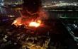 Cháy lớn kèm nhiều tiếng nổ trong nhà kho gần cảng Sài Gòn