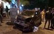Hà Nội: Xế hộp đâm liên hoàn 3 ô tô, 2 xe máy, một người nhập viện cấp cứu