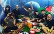 """Hậu đám cưới lãng mạn cùng Kelvin Khánh, Khởi My vui vẻ """"tiệc tùng"""" với hội bạn thân sao Việt"""
