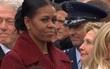 Giải mã ánh mắt khó hiểu của bà Michelle Obama trong lễ nhậm chức của Tổng thống Donald Trump