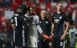 """Hành động đẹp của Lukaku với thủ môn điển trai """"tặng"""" bàn thắng cho Man Utd"""