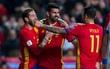 Costa trở lại giúp Tây Ban Nha đè bẹp Israel