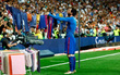Ảnh chế: Messi biến sào huyệt Bernabeu thành sân phơi quần áo