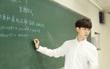 Môn Toán sẽ chẳng còn đáng sợ nếu có một giáo viên dạy Toán điển trai như diễn viên!