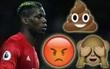 90 phút thảm họa của Pogba qua những emoji hài hước