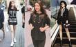 Chẳng hẹn mà gặp: Mỹ Linh, Ngọc Trinh, Huyền My... đều diện đồ đen trong street style tuần qua