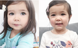 Nhìn là muốn yêu luôn, ôi đôi mắt của cô bé lai Hàn - Mỹ xinh như búp bê!