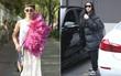 """2 street style siêu """"vô lý"""": Mai Ngô mặc dị không ai bằng, Kim Kardashian lại """"chân chất"""" khó đỡ"""