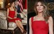 Đệ nhất phu nhân Melania Trump cắt phăng chiếc váy 120 triệu đồng để tiếp đón nguyên thủ quốc gia