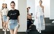 """Phí Phương Anh cùng dàn chân dài trình diễn BST thời trang """"đầu tay"""" của Angela Phương Trinh"""
