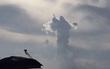 Xuất hiện đám mây hình Đức Mẹ bay lơ lửng trên bầu trời