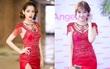 """Hari Won """"mặc lại"""" đầm đỏ quyến rũ mà Chi Pu diện từ nửa năm trước, ai đẹp hơn?"""