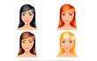 Tiết lộ thú vị về tình yêu qua màu tóc yêu thích của mỗi người